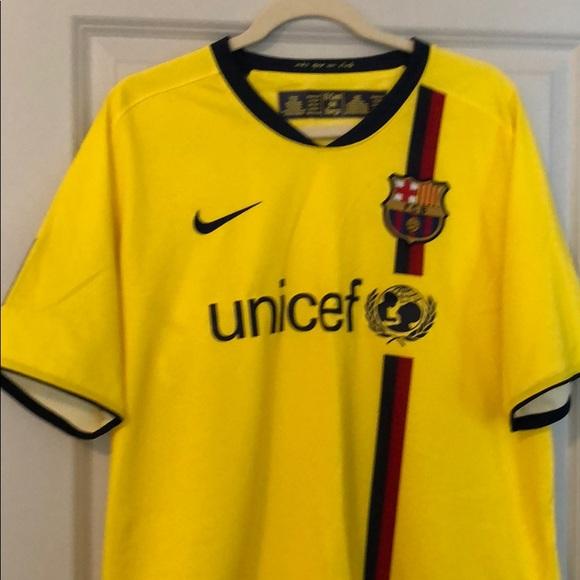 7375278ee NIKE VINTAGE FC Barcelona home match jersey shirt size XL 2014 2015 ...  M 5b66033e7ee9e265370df212